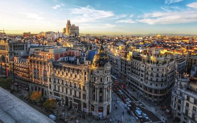Мадрид през ноември | самолетна | 6 ноември 2019