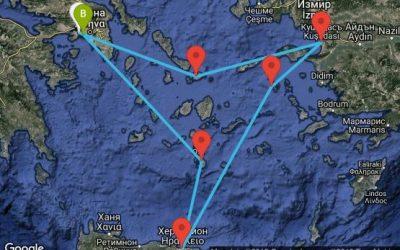 Средиземноморски круиз – 5 гръцки острова и Кушадасъ | автобус до Пирея