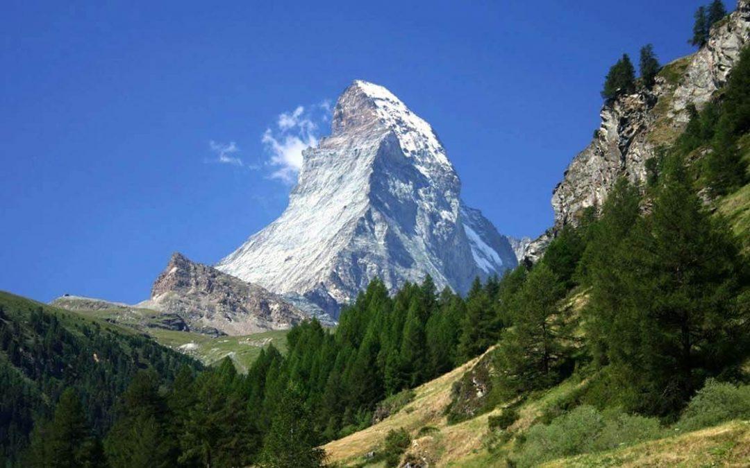 Швейцарски Алпи – Юнгфрау и Матерхорн   самолетна   потвърдена!